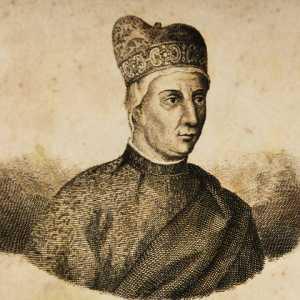 Incisione raffigurante il doge Giovanni Soranzo.