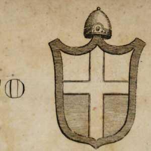 Lo stemma del doge Teodato Ipato