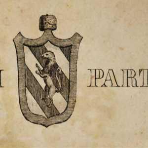 Lo stemma del doge Giovanni Partecipazio I