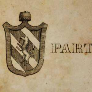 Lo stemma del doge Partecipazio Orso I