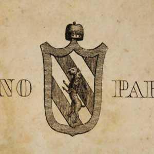 Lo stemma del doge Giustiniano Partecipazio