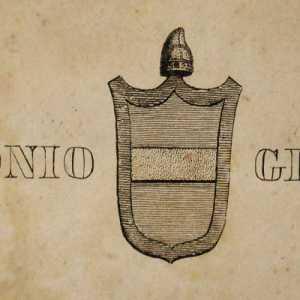 Lo stemma del doge Marcantonio Giustinian