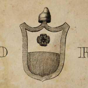 Lo stemma del doge Carlo Ruzzini