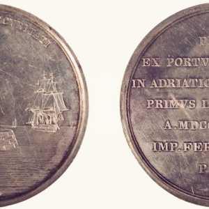 Luigi Ferrari, 1838, medaglia Malamocco