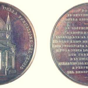 Francesco Stiore, 1876, medaglia Redentore