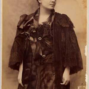 Eleonora Duse a New York (1896).