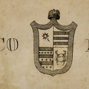 The emblem of the doge Domenico Michiel