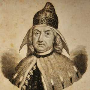 Engraving depicting the doge Alvise Mocenigo III