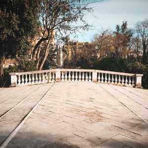 Il ponte in tutta la sua ampiezza. — (Archivio Venipedia/Bazzmann)