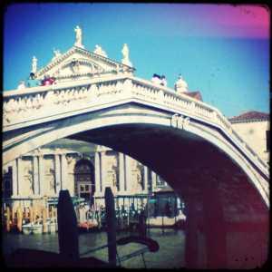 Ponte fotografato da Fondamenta San Simeone Piccolo