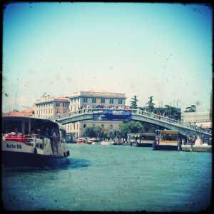 Ponte fotografato da Fondamenta Riva di Biasio